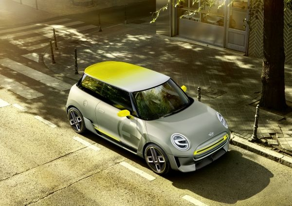 mini electric concep frankfurte